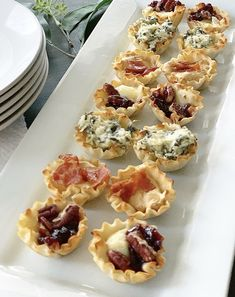 3 Easy Appetizers Using Phyllo Cups - Crisp Collective 3 Easy. 3 Easy Appetizers Using Phyllo Cups – Crisp Collective 3 Easy Appetizers Using Yummy Appetizers, Appetizers For Party, Simple Appetizers, Phyllo Appetizers, Individual Appetizers, Easy Make Ahead Appetizers, Easy Appetizer Recipes, Easy Recipes, Phyllo Cups