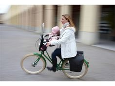 Forget the panniers - this is an awesome baby carrier!  BROOKS ENGLAND LTD. | CYCLE+BAGS+&+ACCOUTREMENTS | BRICK+LANE+ROLL UP+PANNIERS