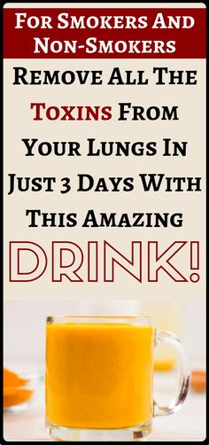 For Smokers And Non-Smokers: You Can Remove All Toxins From The Lungs In Just 3 Days And It Actually Works Better Than Some Medicines. Herbal Remedies, Health Remedies, Natural Remedies, Health And Nutrition, Health And Wellness, Health Fitness, Holistic Healing, Natural Healing, Easy Detox Cleanse