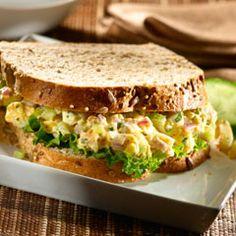 Smokin' Egg Salad Sandwiches Recipe on Yummly