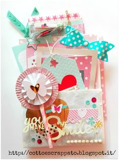 Cotto e Scrappato: Happy Mail e Pocket Letter per Lisa Pochette Surprise, Baby Mini Album, Snail Mail Pen Pals, Pocket Envelopes, Handmade Card Making, Pocket Letters, Pocket Cards, Happy Mail, Scrapbook Paper Crafts
