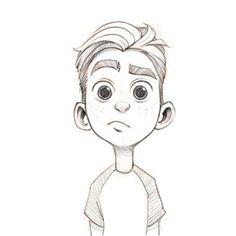 Pin By You Hello On Didi Cartoon Drawings Boy Cartoon Drawing