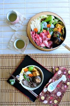 Are you ready for the cooler weather?  I sure am especially with this easy to prepare, delectable and comforting Beef Sukiyaki!
