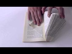 Book Art - Sculptures From Old Books | euromaxx - YouTube