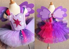 Twilight Sparkle Pony Inspired Tutu Dress-next diy; my mlp lovin princess will love this