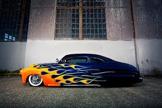 American style Mercury 1949 With some custom features Ford Motor Company, Rat Rods, 49 Mercury, Cars Vintage, Antique Cars, Automobile, Pt Cruiser, Lead Sled, Hot Rides