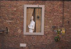 Nude woman in window by enframed on DeviantArt