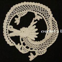 Crochet dragon - inspiration wow