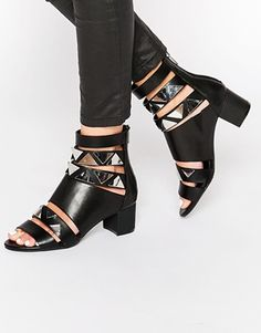 Eeight Tabitha Strappy Heeled Sandals