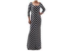 #niezchinzpasji Marie XS - sukienka maxi Grey Black od Freeshion w FreeshionOutlet na DaWanda.com