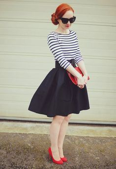 Fringue de swing - 62 idées pour un look rétro - Archzine.fr. Fitness Women s  Clothes - Le vintage ... 49193396b1dc