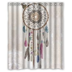 Amazon High Quality And New Fashion Dreamcatcher Shower Curtain 60 X 72 Clothing
