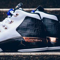 Air Jordan 17 + Retro #Leather, #Retro, #Sneakers