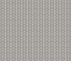 Small Arrow Chevron - Greige fabric by tycdesignco on Spoonflower - custom…