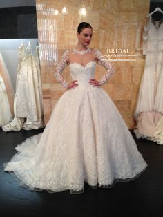 Stephen Yearick's wedding dress creations and designs are customized to guarantee appropriate fit for any body type and can be modified to create the perfect bridal gown to grace any occasion with glamour, elegance and style! http://www.bridalreflections.com/bridal-dress-designers/stephen-yearick