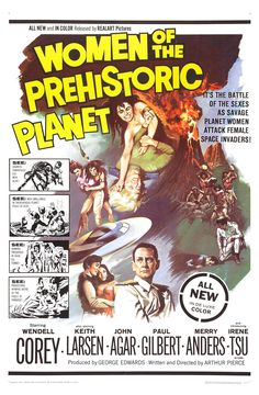"""MST3K 0104 'Women of the Prehistoric Planet' (1966) """"Their technology must be light years ahead of ours. Their use of stock footage is amazing!"""""""