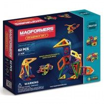 Magformers Magnetic Building Construction Set - 62 Piece Designer Set: You can make creative models with the newly added diamond and trapezoid shapes. Includes trapezoids, diamonds and isosceles triangles in rainbow pieces. Magnetic Building Blocks, Building Toys, Toys For Little Kids, Kids Toys, Baby Toys, Isosceles Triangle, 4 Diamonds, Rare Earth Magnets, Christmas Wishes