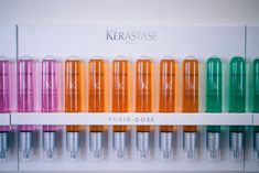 Gal Meets Glam - Colorful Kerastase Fusio Dose Treatment Salon Products