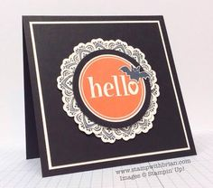 #Hello, Freaky Friends, Mixed Bunch, Stampin' Up!, Brian King, PPA223, PP216