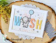 Birthday Wish - MFT Stamps