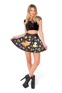 Hakuna Matata Skater Skirt › Black Milk Clothing