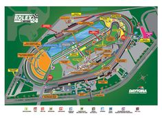 Check out this Rolex 24 event map to see where various events will be taking place throughout the weekend!