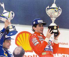 Ayrton Senna - Brazil 1991