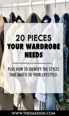 Strategically build a wardrobe that matches to your lifestyle without breaking…