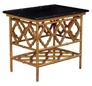 bamboo side table would look great in so many places