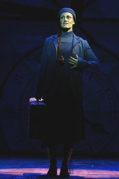 Idina Menzel (Elphaba) in the original Broadway production.