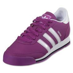 purple adidas dragon