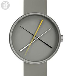 "Projects Watches (Denis Guidone) - 7292G ""Crossover Gray"" Unisex Watch (*Amazon Partner-Link)"
