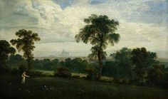 Distant View of London, by John Martin Collection: Glasgow Museums Glasgow Museum, English Romantic, A4 Poster, Poster Prints, London History, John Martin, Landscaping With Rocks, Art Uk, London Art