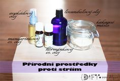 Přírodní prostředky proti striím Diy Baby, Czech Republic, Soap, Cosmetics, Bottle, Recipes, Blog, Kids, Young Children