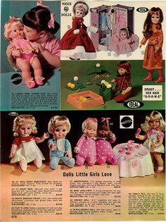 1972 All Mattel, Vogue and Ideal Dolls