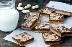 No-Bake Chocolate Peanut Butter Bars :: Home Cooking Adventure