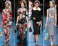 Dolce & Gabbana Spring/Summer 2016 Collection – Milan Fashion Week ...