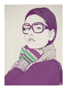 Digital Art Project: 'Violet Minds' by Cranio Design