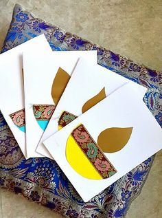 The ultimate list of DIY Diwali card ideas for kids to make If you're looking for easy Diwali card ideas, we have the best DIY Diwali card ideas for kids - Kandils, crackers, lamps & more. Be inspired. Diy Diwali Cards, Handmade Diwali Greeting Cards, Diwali Card Making, Diy Diwali Decorations, Easter Arts And Crafts, Crafts For Kids, Diwali Eyfs, Diwali Craft For Children, Diwali Activities