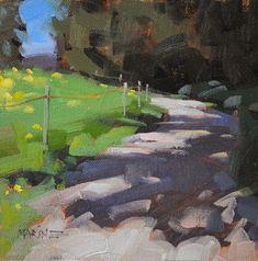 """Daily Paintworks - """"Schatten Weg"""" - Original Fine Art for Sale - © Carol Marine"""