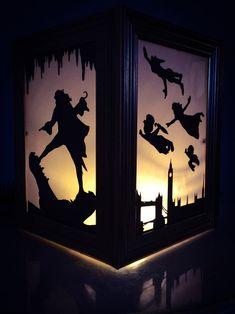 Peter Pan Lantern by PracPerfCrafts on Etsy Disney Home, Disney Diy, Disney Crafts, Disney Songs, Disney Quotes, Peter Pan Jr, Peter Pan Party, Peter Pan Wedding, Peter Pan Bedroom