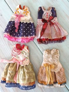 Outfits by Petite Apple for Lou doll by Nefer Kane