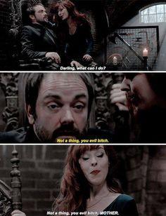 I love Rowena! #Supernatural
