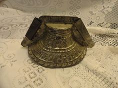 Antique Metal Candy Mold Nice Primitive .