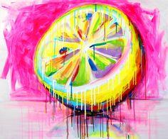 "Saatchi Online Artist Yuliya Vladkovska; Painting, ""Acid. SOLD"" #art ---> follow stephany medina"