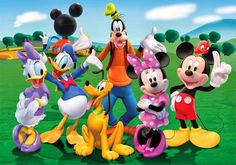Resultado de imagen para imagenes de mickey y sus amigos