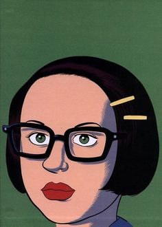 Ghost world  Art by Daniel Clowes