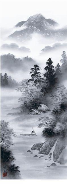 Kakejiku stampe giapponesi da collezione