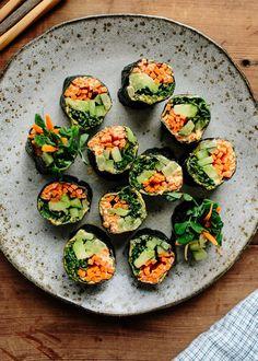 Recipe: Veggie Nori Rolls — Lunch Recipes from The Kitchn