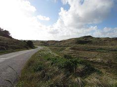 Ausflugsstrasse zwischen #Lønne und #Nymindegab Strand #Dänemark #Jutland